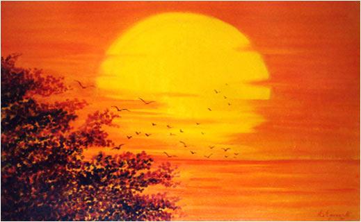 Paesaggi del piceno raccontati da annunzia fumagalli for Quadri ad olio con fiori