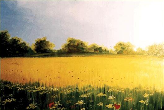 Paesaggi del piceno raccontati da annunzia fumagalli for Fiori dipinti a olio